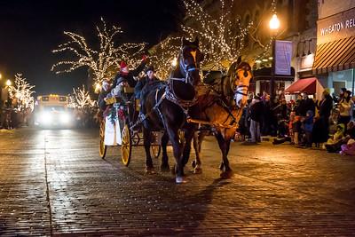 Downtown Wheaton Association Holiday Parade 11-16