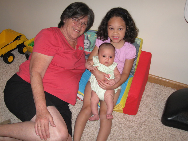 Nanna and her granddaughters