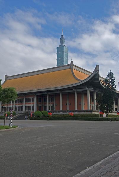 Sun Yat Sen Memorial and Taipei 101 by Day - Taipei, Taiwan