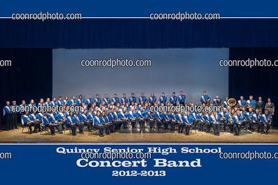 QHS Concert Band 2012-2013