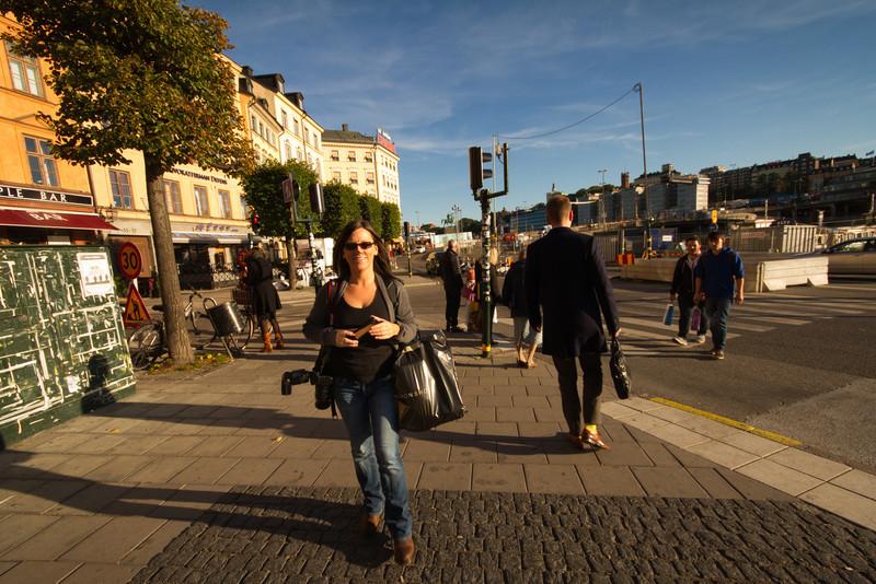 Christina in Stockholm