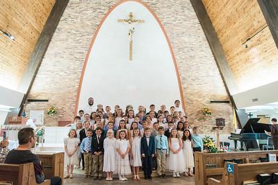 St. Genevieve First Eucharist 2018