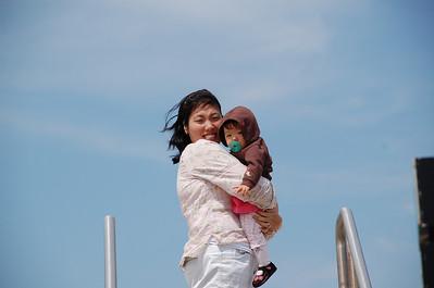 March 23, 2008 - Windy day on Galveston Island