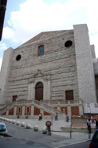 Chiesa S. Domenico. Perugia, Umbria