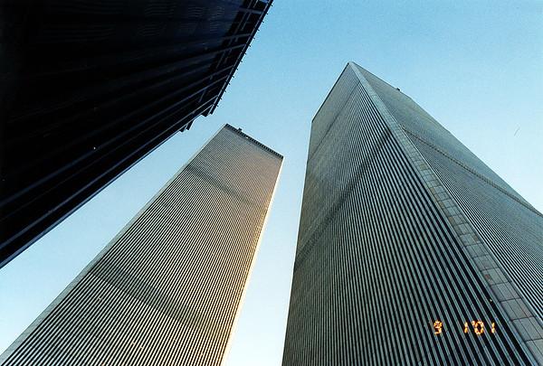 World Trade Center 09-01-2001