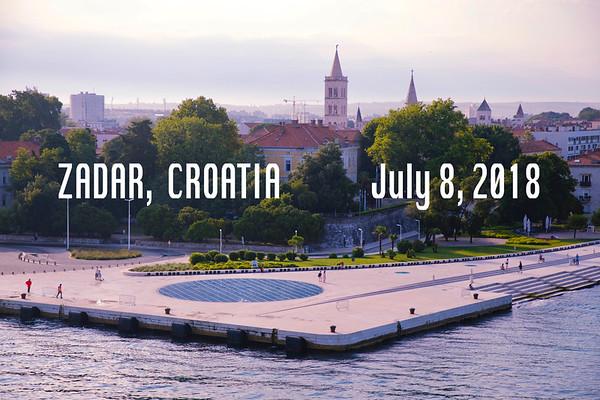 Zadar July 6, 2018
