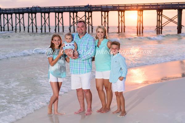The Edwards family 2020  |  Panama City Beach