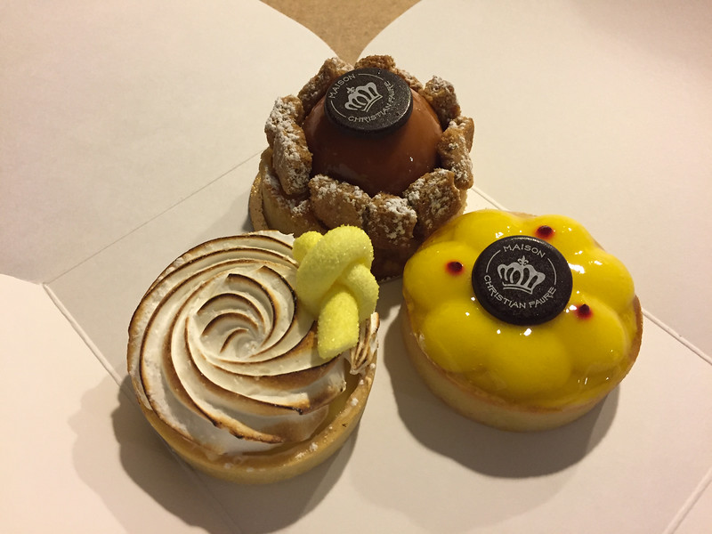 Pastries from Mainson Christian Faure