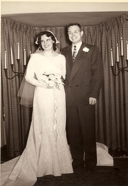 Ed/Jean Wedding 1951