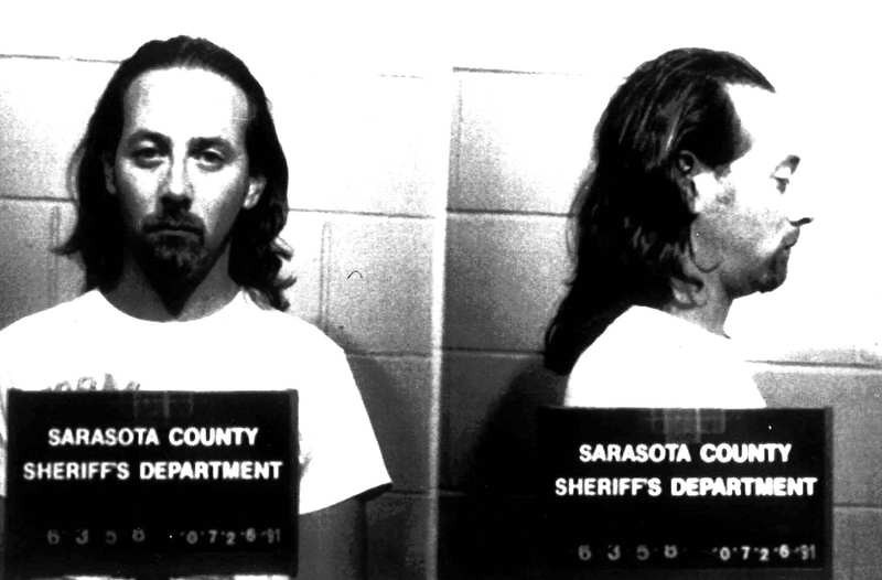 . Paul Reubens, the 38-year-old actor known as Pee-Wee Herman, is shown July 29, 1991 in this police booking mug from the Sarasota County Sheriff\'s department. He was arrested on charges of indecent exposure in an adult movie theater. (AP Photo)