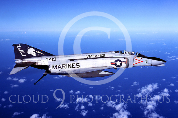 US Marine Corps McDonnell Douglas F-4 Phantom II Military Airplane Pictures