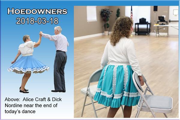 2018-03-18 Hoedowners Regular Dance