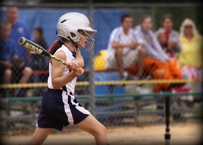 Horseheads 10 & 8 Girls softball tourney 2015