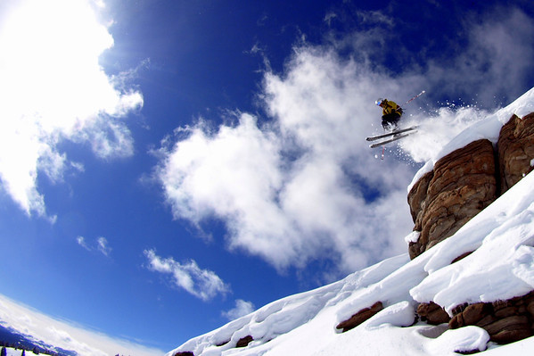 Vail Pass Skiing - Feb 2010
