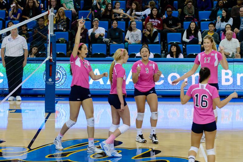 UCLA Women's Volleyball vs. Washington State @ Pauley Pavilion
