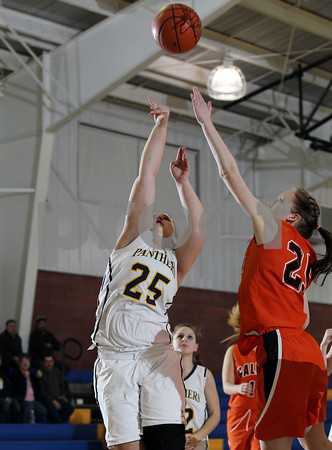2012 Galeton Girls Basketball @ Northern Potter