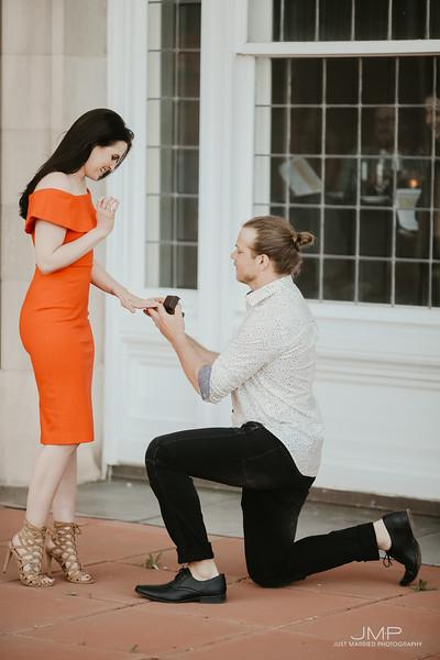 Victoria + Jamie's Proposal