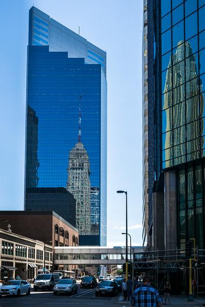 Campbell Mithun Tower at Downtown Minneapolis, Hennepin County, Minnesota, USA