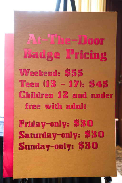 badge prices