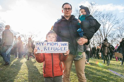 Immigration Ban protest - New York City - 2017