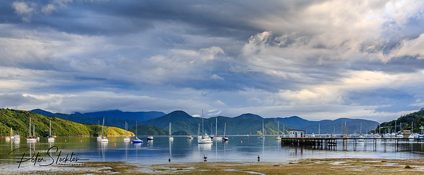 Waikawa Bay South Island NZ.