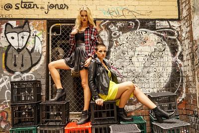 Models: Siobhan Liston / Laura Hartley, HMUA: Anastasia Kouzoukas
