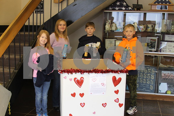 Students Collecting Donations for Homeless - January 2017
