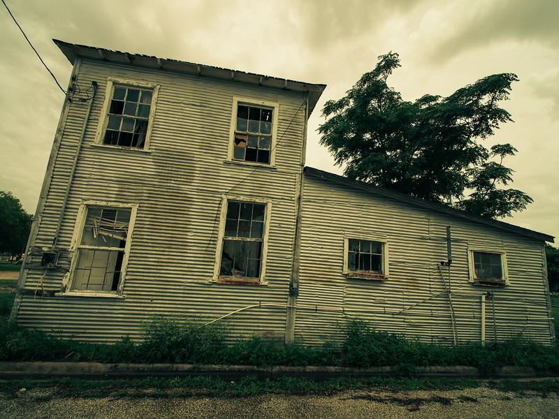 Abandoned Home on the Texas Gulf Coast.