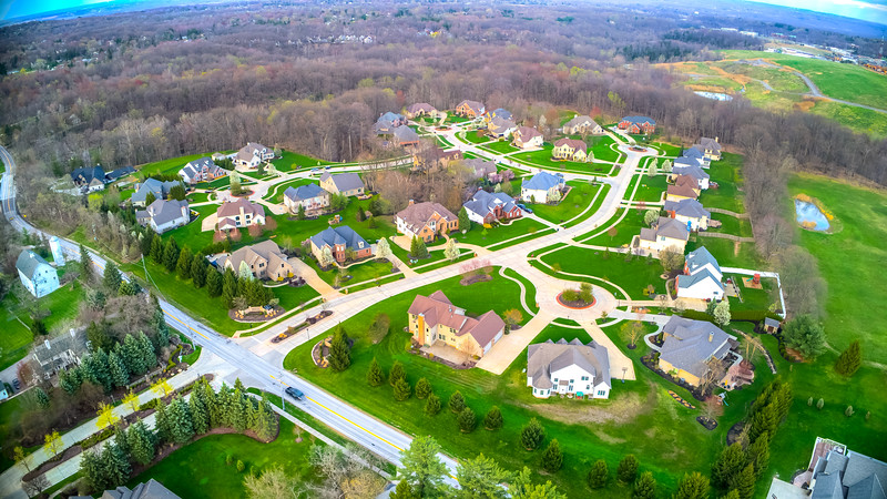 Easter Sunday Drone Flight - Broadview Heights