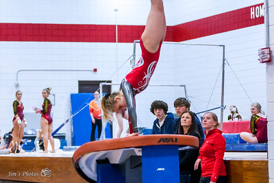 HS Sports - Sun Prairie Gymnastics - Jan 14, 2016