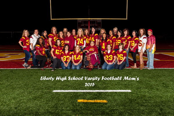 2015 Liberty HS Football Mom's