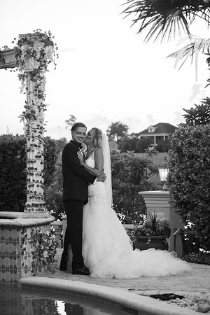 Stacy and Jason - Black White Images