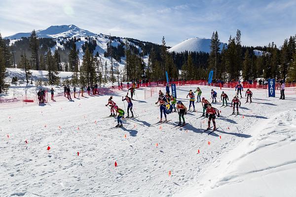 2019 XC Oregon HS Invite 5k Skate Race