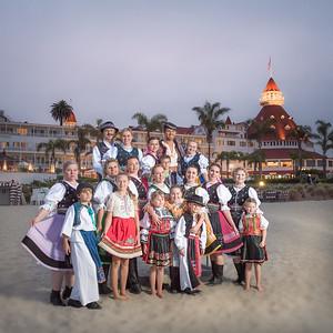 Czech and Slovak Dancers at Coronado Island