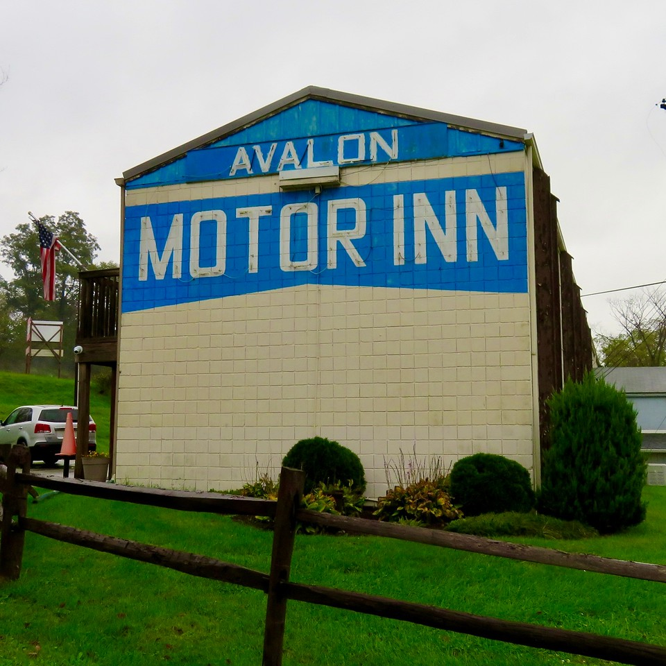 Avalon Motor Inn from the movie Mothman Prophecies - 1 Avalon Cir, Eighty Four, PA 15330