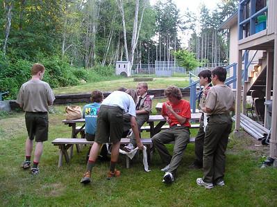 Troop Meeting - Aug 8