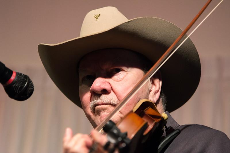Fiddler of renown Bobby Hicks