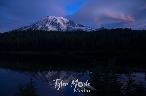 Mount Rainier Lenticular Clouds 9.11