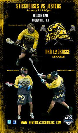 Kentucky StickHorses Pro Lacrosse
