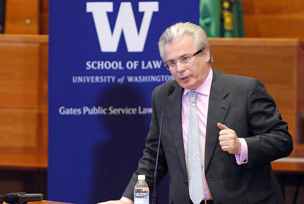 Gates Public Service Law Speaker Series: The Honorable Baltasar Garzon