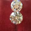 2.88ctw Old European Cut Diamond Pair, GIA I/VVS2 &  GIA H VS1 16