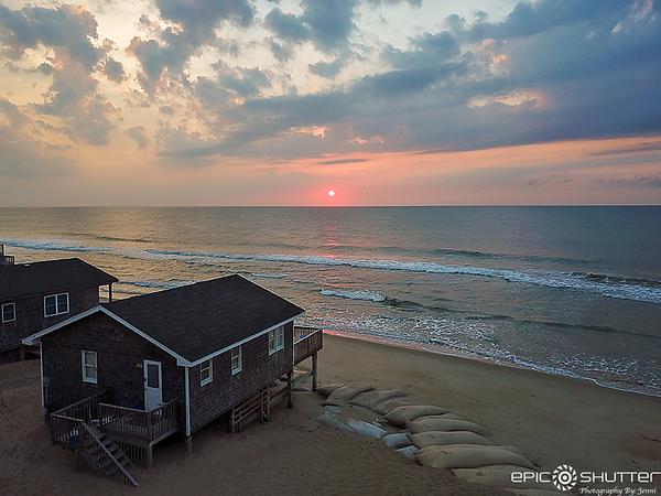 June 15, 2021 Sunrise, Buxton, North Carolina, Drone Photos