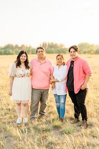 Cruz Family, Mikey Grad, Nicky Portraits