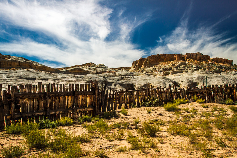 An old corral