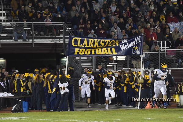 Clarkston-Davison Playoff Football 11-04-16