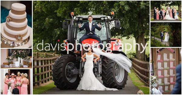 Ruth & Williams Young Farmers Wedding