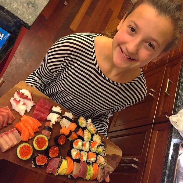We may have too much #sushi. Who's hungry?