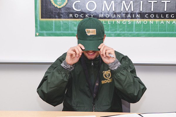 Drews Signing Day by eRichard Photography