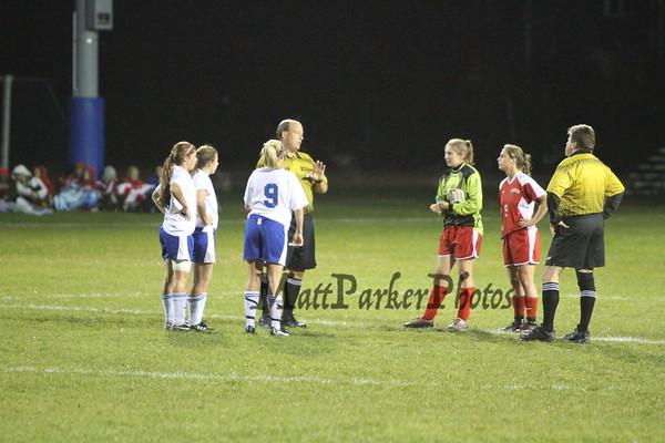 2010-10-19 WHS Girls Soccer vs Pinkerton