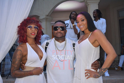 Johnnie Cabbell All White Pool Party